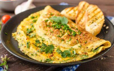 Gesunde Rezepte: Frühstücks-Garten-Omelett
