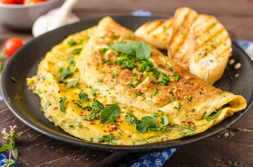 Healthy Recipes: Breakfast Garden Omelette