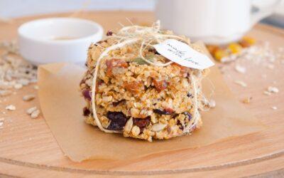 Gesunde Rezepte: Quinoa-Squares ohne Zucker