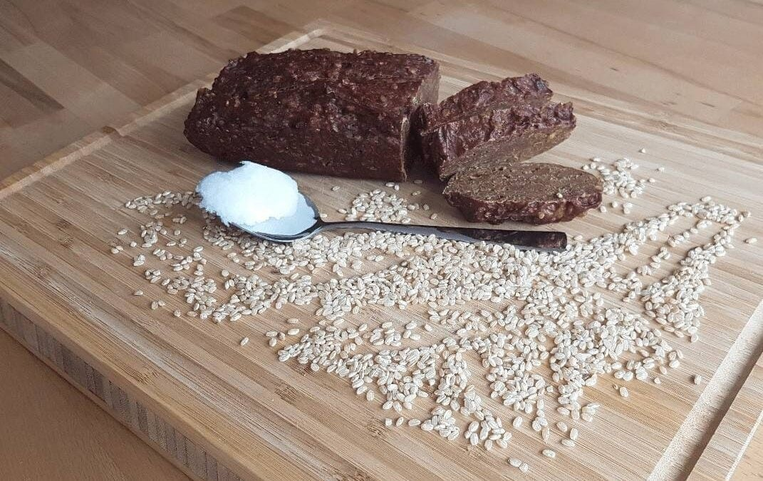 Healthy recipes: Steamed spelled rice miso bread