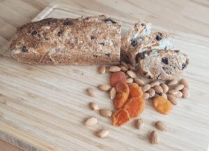 gesunde rezepte nuss fruechte dinkelreisbrot