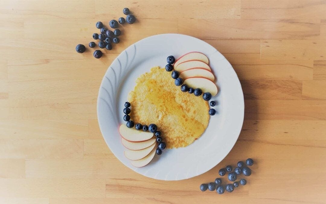 Healthy recipes: Delicious pancakes without sugar
