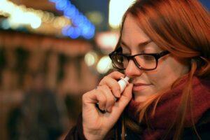 zwangsimpfung per nanopartikel in die lungen