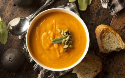 Gesunde Rezepte: Cremige Kürbissuppe