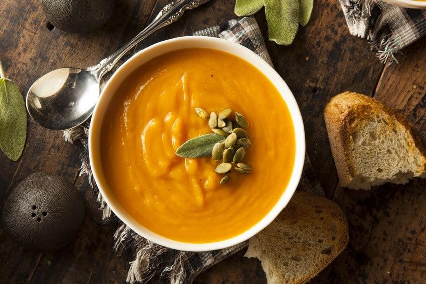 Healthy Recipes: Creamy Pumpkin Soup