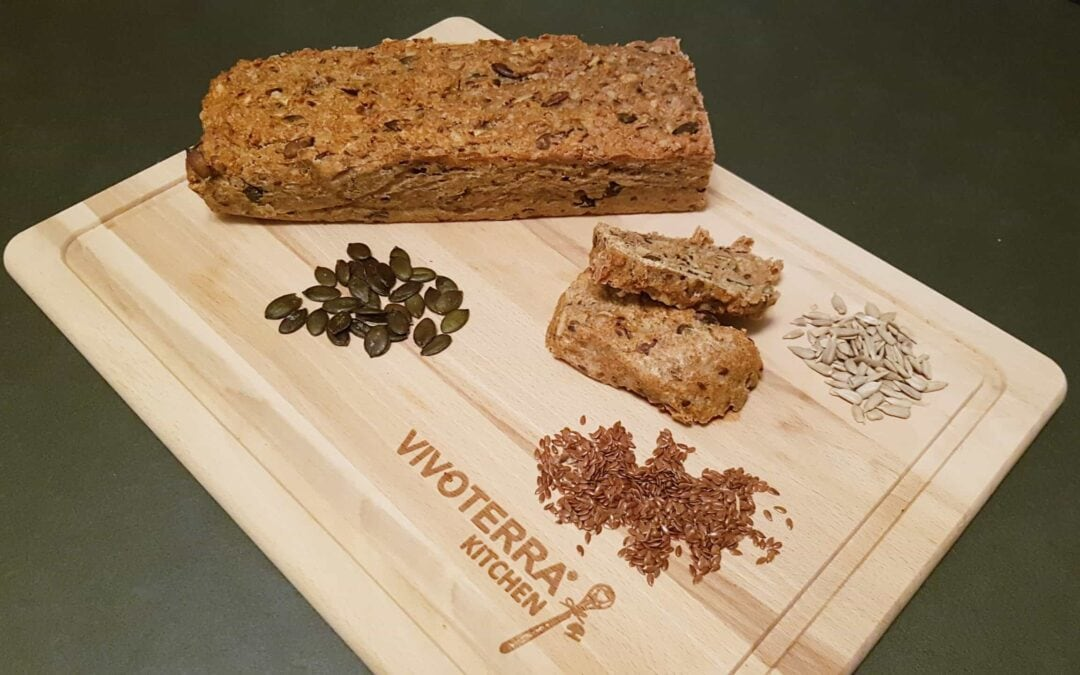 Healthy recipes: original spelled bread with cooked whole grain rice