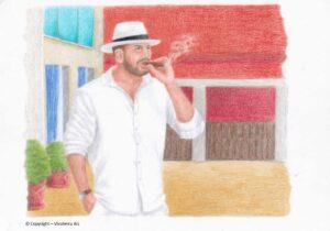 zeichnung: die wahrheit über das rauchen - erkenne die who manipulation