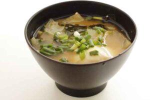 gesunde rezepte miso suppe mit tofu