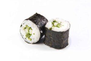 gesunde rezepte leckere sushi nori rollen