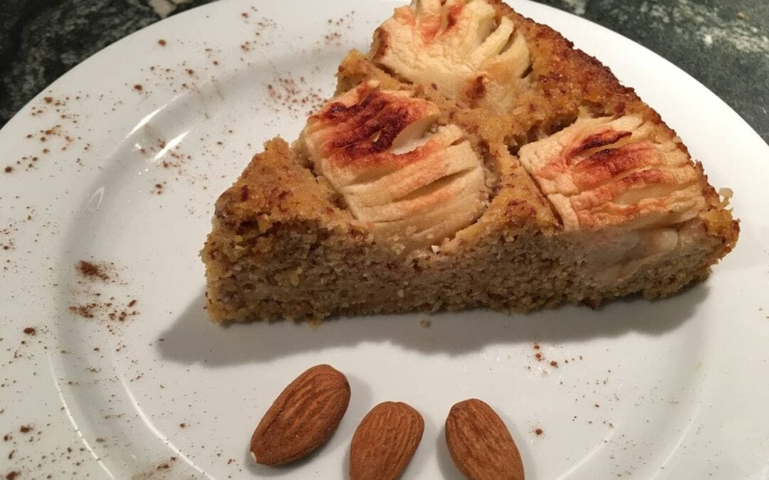 Healthy recipes: vegan apple pie without sugar